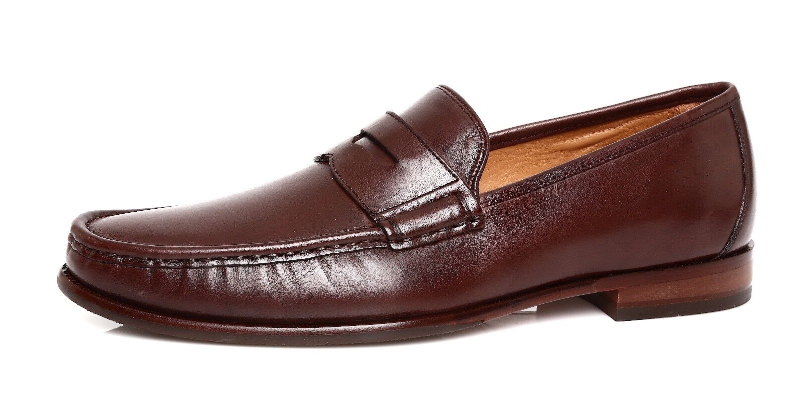 Cole Haan Aiden Grand II Men's Brown Leather Penny Loafer Sz 10 M 1011