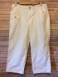 COLUMBIA-Women-039-s-XCO-capri-pants-size-12-White