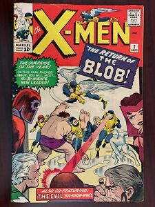X-Men #7 (6.0) FN (1964) - Return of the Blob/Evil Mutants - Marvel Silver Age
