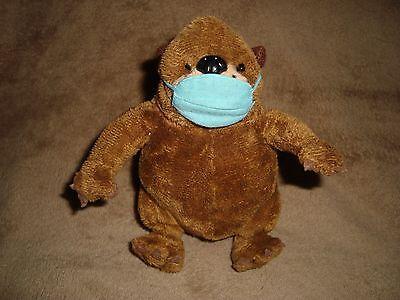 """Bell Beaver Retired Mascot dress as doctor Plush 5.5/"""" tall"""