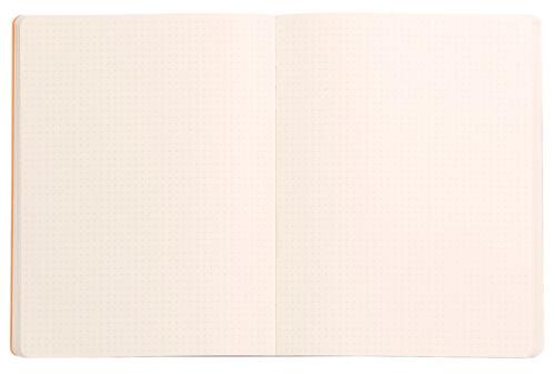 RHODIA Notizbuch ca Softcover A4 carnet souple bloc dots Punkte dot grid 160 S