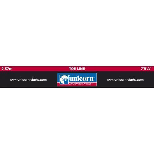 2.37m Unicorn Darts Self Adhesive Oche Mat Heavy Duty Dart Throwing Marker
