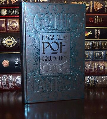 Edgar Allan Poe Classic Stories Tell-Tale Heart New Leather Bound Collectible