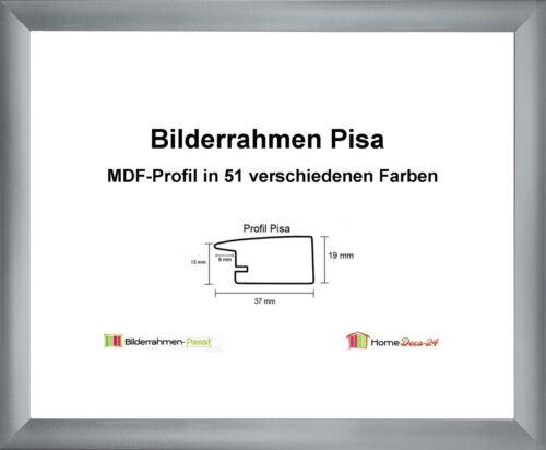 Pisa MDF-Bilderrahmen Metall III von 70 x 120 bis 70 x 120 cm