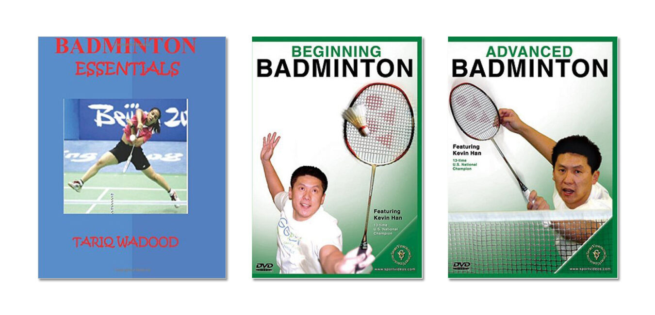 New Badminton Training Book and DVD - - DVD Free Shipping 420c8f