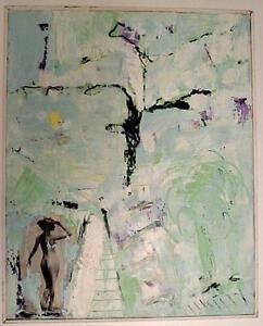 Abstrait Surrealiste Symboliste Nu Femme Collage M Mikaelian Xx Lyon
