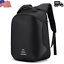 US Anti-theft Mens Outdoor Laptop Notebook Backpack+USB Charging Business Bag