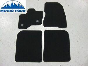 2010-2017 Ford Flex OEM Ford 4pc Charcoal Black Floor Mat Set AA8Z7413086AA