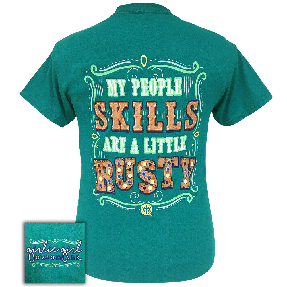 Girlie Girl Originals Tees Rusty Antique Jade Dome Short Sleeve T-Shirt - 2108