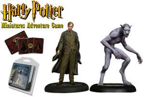 HARRY-POTTER-MINIATURES-ADVENTURE-GAME-Remus-Lupin-amp-Werewolf-Form-Espansione