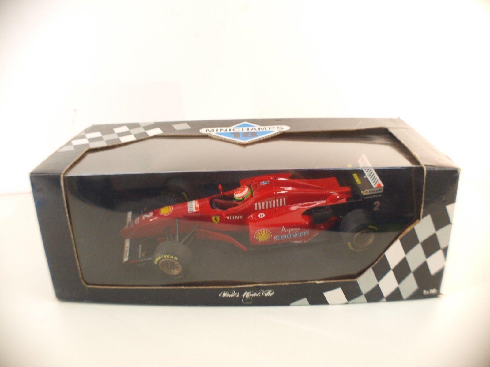 Minichamps • Ferrari 412 T3 V10 1996 • E.Irvine • 1 18 neuf boxed  boîte MIB