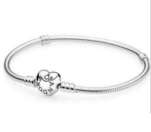 Original-PANDORA-Armband-mit-Clip-Herz-Verschluss-20cm-590719-20-Silber-925-neu