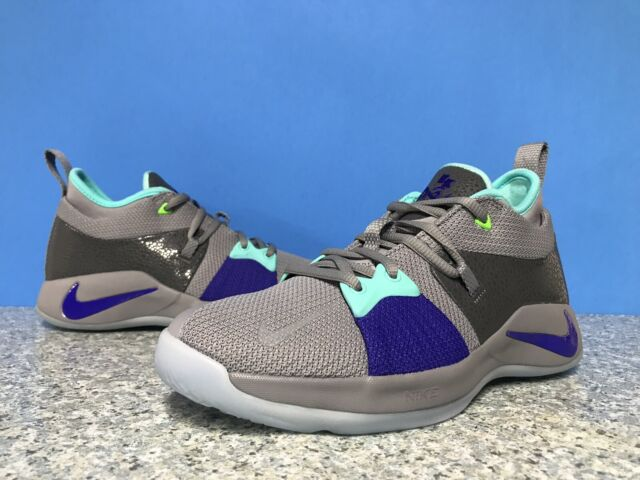 new style 7e55f b765a Nike PG 2 GS Pure Platinum/neo Turquoise Youth Sz 5y Basketball Shoes  943820-002