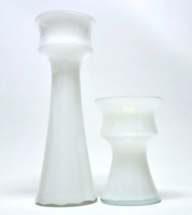 Glas, Vase / hyacintglas / løgglas, Holmegaard