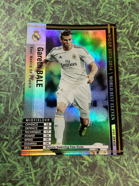 Panini WCCF WBE 13-14 Gareth Bale Wales Real Madrid England Spain Refractor card
