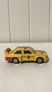 "CORGI JUNIORS M3 BMW ""SILVERSTONE"" Nº 5 Giallo MADE in Gran Bretagna"