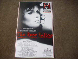 The-ROSE-TATTOO-Julie-Walters-Ken-Stott-PLAYHOUSE-Theatre-Original-Poster