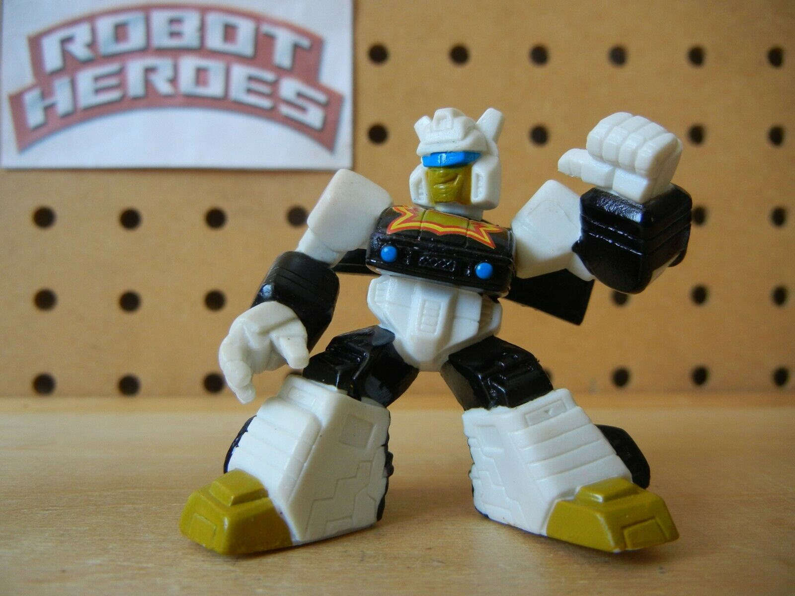 Transformers Robot Heroes Universe RARE RICOCHET Unreleased Wave 5 Generation 1