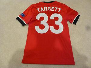 finest selection b6e80 6036d Details about Southampton #33 Targett Europa League Match Issued Jersey vs  Sparta Prague COA