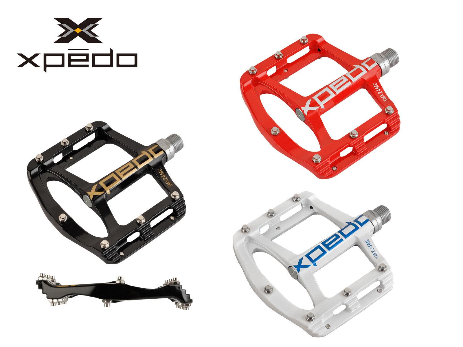 Xpedo Spry Ultra-Slim Pedales De Magnesio