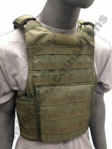 SDS BAE Systems RBAV-SF Releasable Body Armor Vest Ranger Green RLCS - Size MED