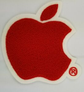 Apple-Computer-Red-Patch-Letterman-Chenille-Style-5-1-2-034