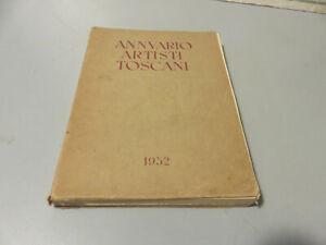 Sindicato Nacional Pintores Y Escultores - Anuario Artistas Toscani 1952