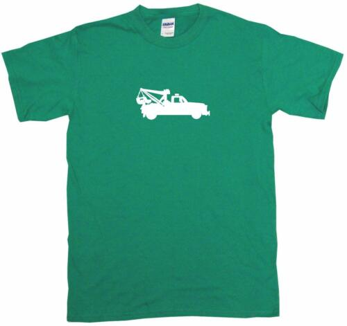 Tow Truck Silhouette Kids Tee Shirt Boys Girls Unisex 2T-XL