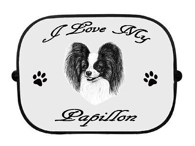 x1 Border Terrier Printed Dog Design Car Window Sun Shade by paws2print
