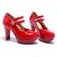 Women-Platform-Pumps-Round-Toe-Solid-Sandals-High-Heel-Stilettos-Mary-Jane-Shoes thumbnail 9