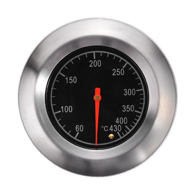Grillthermometer bis 427 °C für alle BBQ Gasgrills Smoker Grillwagen Räucherofen