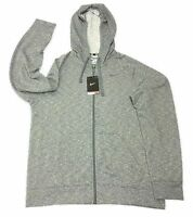 Nke Dr-fit Training Hooded Hoodie - Grey Adult Large