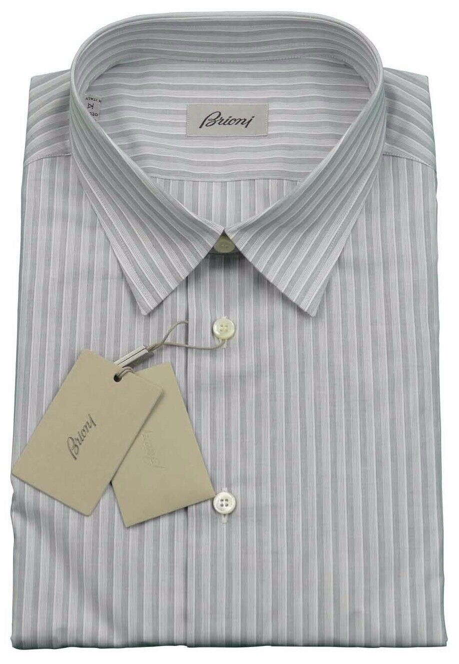 Brioni Herren H   S-SHIRT 100% Cotton Handgefertigt in Italien Neu mit Etikett  | Good Design