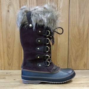 SALE-Women-039-s-Sorel-Joan-of-Arctic-Ski-Snow-Boots-Fawn-amp-Cattail-18-19-RRP-170