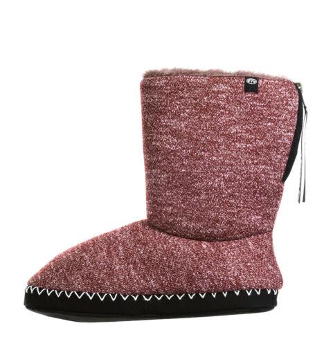 Animal NEW Bollo grape burgundy warm womens winter slippers boots sizes 4-8