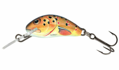 """Salmo Hornet Floating 3 Lure H3F-T Trout 1 3//8/"""" 1//16 oz Mad Action Crank"""
