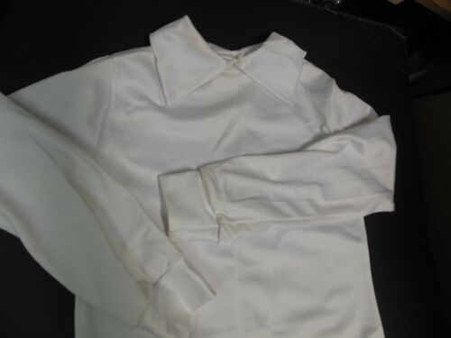 NWOT Dance Costume Collared Long sleeve shirt Child  sizes 86242 spandx 4 colors