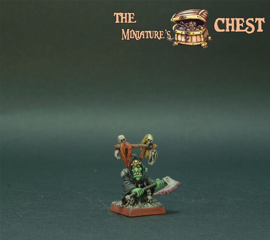 WFB Goblin Boos With 2 Hand Axe METAL miniature PAINTED BY TMC TEAM -
