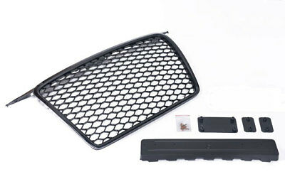 Grille Sports Grill Honeycomb Mesh Grille Black for Audi ...