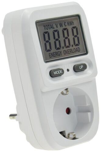 Coût énergétique Appareil de mesure d/'énergie Moniteur consommation d/'énergie électrique appareil de mesure Max 3680 W K