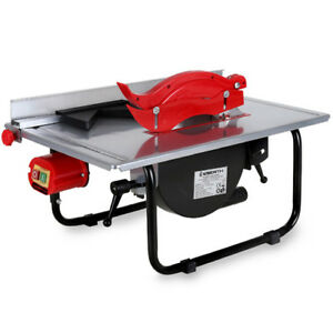 Eberth 600w Table Saw Bench Top Circular Saw Wood Saw 200mm Hard Metal Blade Ebay