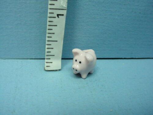 Miniature Pink Ceramic Piggy Bank #H061-Bright Delights