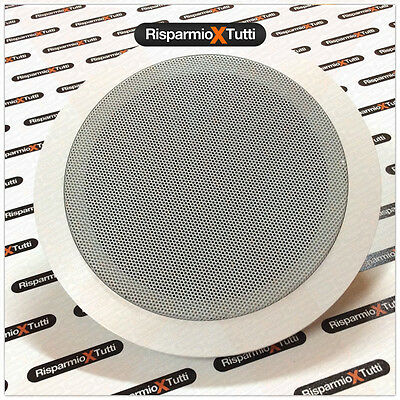 CASSE DA INCASSO PER SOFFITTO CASSA AUDIO FILODIFFUSIONE SPEAKER ALTOPARLANTE