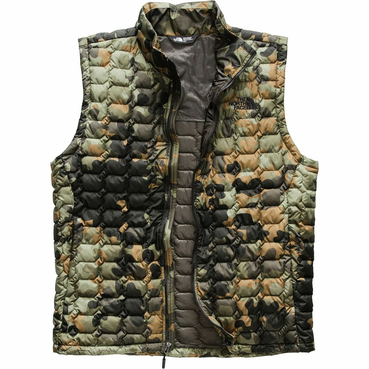 The North Face   Face Herren THERMOBALL VEST GILET Synethic Insulated Body Warmer Camo M 739e75
