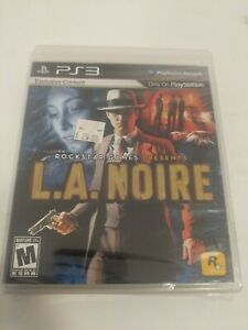 L.A. Noire (Sony PlayStation 3) Brand New Sealed! Rare
