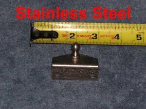 Marine Boat Stainless Steel Strut Outside Angle Bracket Spring Plate