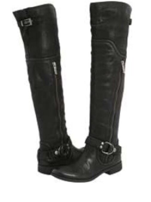 MISS SIXTY LEIGHTON LEATHER OVER THE KNEE 6.5