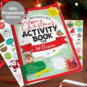 Personalised-Christmas-Activity-Book-with-Stickers