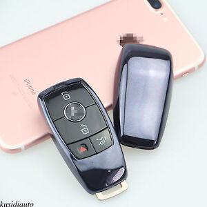 2017 mercedes benz e class remote smart black tpu key for Mercedes benz key cover