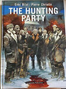 The-Hunting-Party-Enki-Bilal-amp-Pierre-Christin-HC-BX16